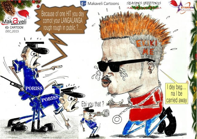 WisaBegsPoliceCartoon - Photo: Wisa Begs Police Cartoon Of The Day