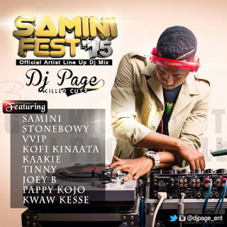saminifest2015blissgh.com  - Dj Page - Samini Fest'15 (Mix)
