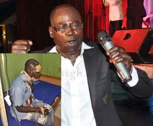Photo: Amakye Dede Escapes death, loses Manager in fatal accident