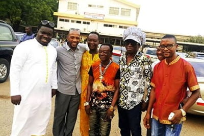 Kojo Antwi, Rex Omar, Bandex, Obour, Others Visit Amakye Dede