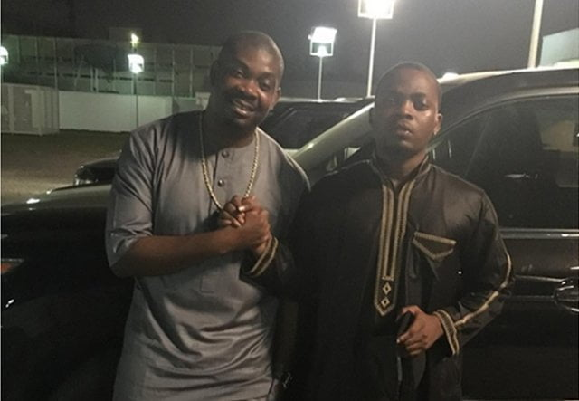 Olamide, Don Jazzy settle rift, apologise to fans