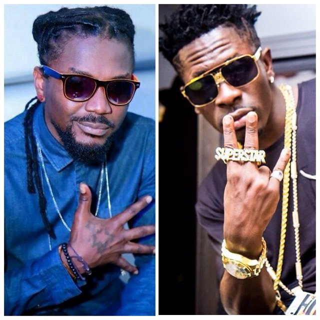 Shatta Wale & Samini resolve differences, hint of collabo