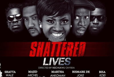 "ShatteredLives - Shatta Wale to Premiere first Movie ""Shattered Lives"", invites all Movie Stars"