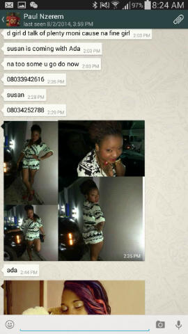 Leaks: Wife leaks whatsapp nude photos of husband's Girlfriend