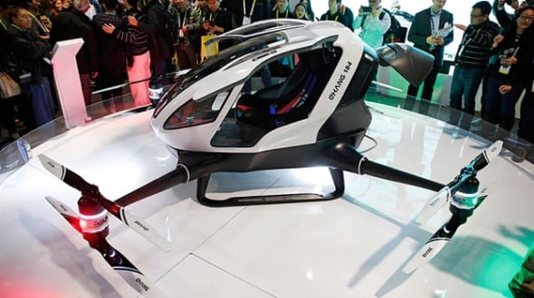 2016 Tech that will blow your pants off, Checkout The Human Carrying Drone