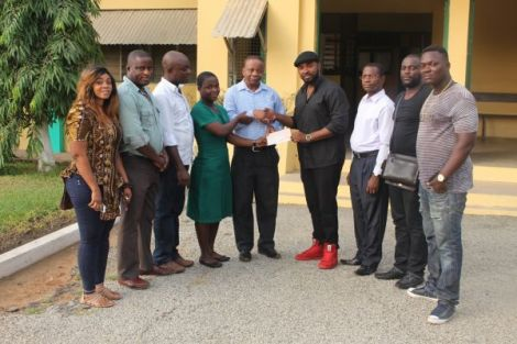 Gasmilla Awards Scholarship to Winneba SHS Student