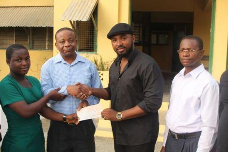 gamilla2Bghnews2Bblissgh2Bscholarship2Bshs3 - Gasmilla Awards Scholarship to Winneba SHS Student | Ghana News
