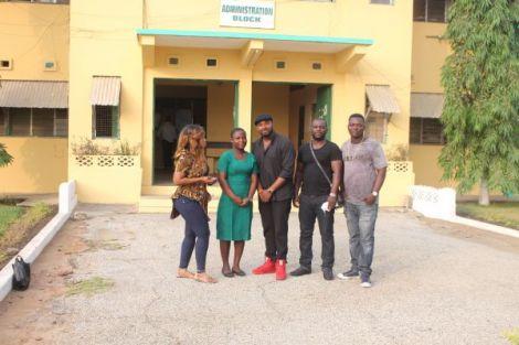 gamilla2Bghnews2Bblissgh2Bscholarship2Bshs36 - Gasmilla Awards Scholarship to Winneba SHS Student | Ghana News
