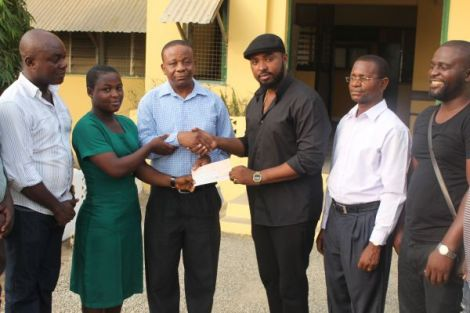 Gasmilla Awards Scholarship to Winneba SHS Student | Ghana News