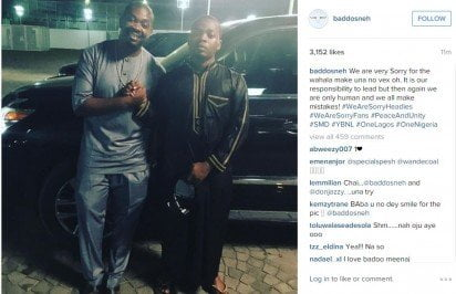 Olamide, Don Jazzy settle rift, Issues joint apology to Fans
