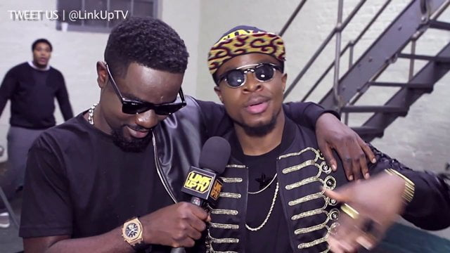 Sarkodie, Fuse ODG combat for Nigeria Awards