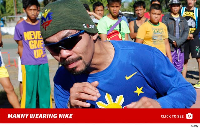 Nike to Fire Boxing Superstar ''Manny Pacquiao'' After Anti-Gay Comments