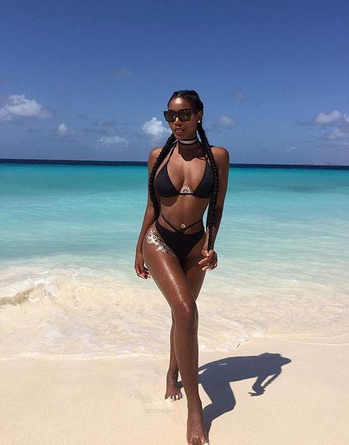 Photos: Model Shares HoT Bikini pics on Instagram | LatestLeaks | Ghanaleak | Naijaleaks