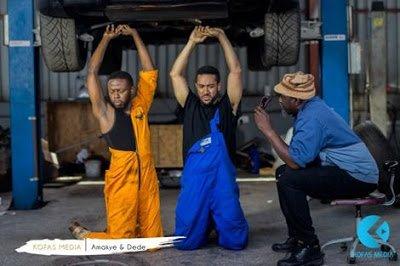 AmakyeDedenothappywithKofasnewmovie2727Amakye26Dede2727whichstarsMajid2CKalybos2CJohnDumelo - Amakye Dede not happy with Kofas new movie ''Amakye & Dede'' which stars Majid, Kalybos, John Dumelo...