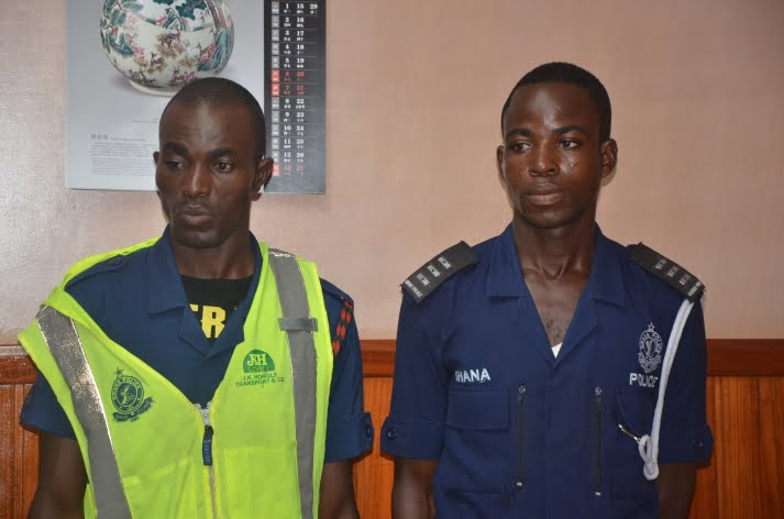 ConstablesnabbedforextortionGhananews - Constables nabbed for extortion | Ghananews