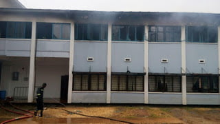 Fire destroys two high Court Judges chambers in Kumasi