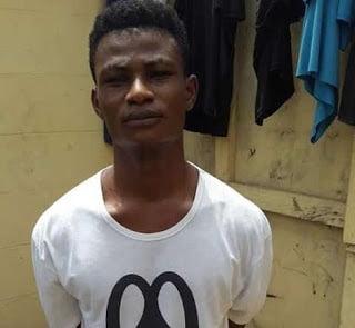 MPkiller - Photo: (NPP's) MP 'Mr J.B Danquah's'  'Killer' nabbed