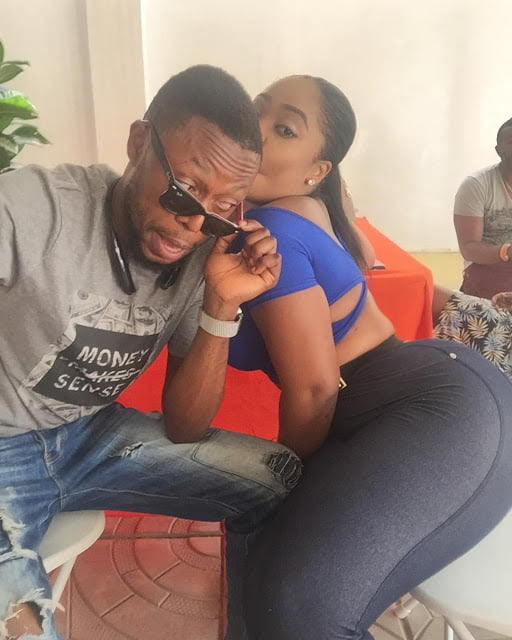 MoeshaBabiinotiBoduongkalybosghanainstagrampictures - Pic of the Day: Eeei see what Kalybos is doing to Moesha Boduong on Instagram