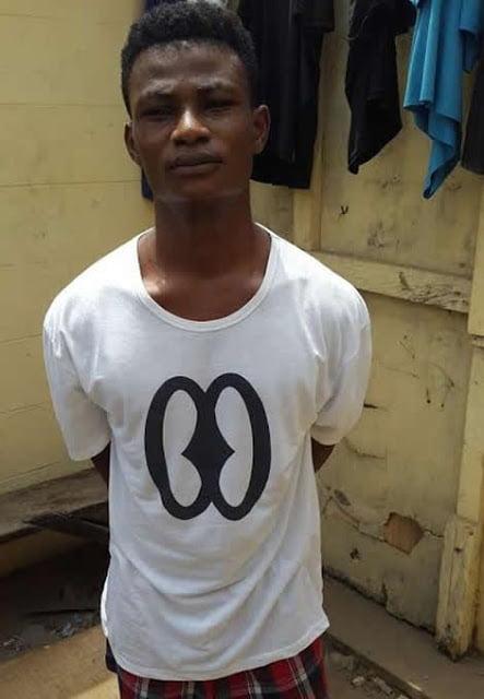 Photo: (NPP's) MP 'Mr J.B Danquah's'  'Killer' nabbed