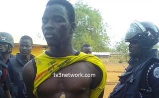 Police nabs Bunkpurugu 'talisman' news general blissgh ghanaweb ghananews