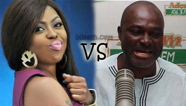 SchwarzeneggervsKennedyAgyapongblissgh - Idiotic cocaine dealer like you! A prostitute's son like you! ''Afia Schwarzenegger'' tells Kennedy Agyapong