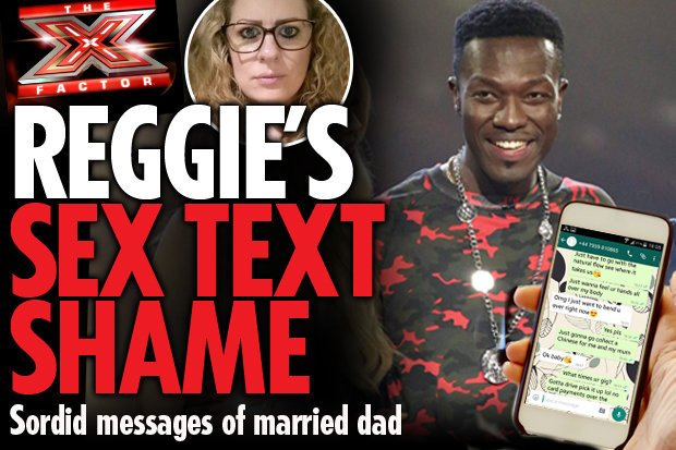 "sextextreggiezippy - SExText Scandal hits Reggie of ''Reggie N Bollie"" Xfactor Uk Fame"
