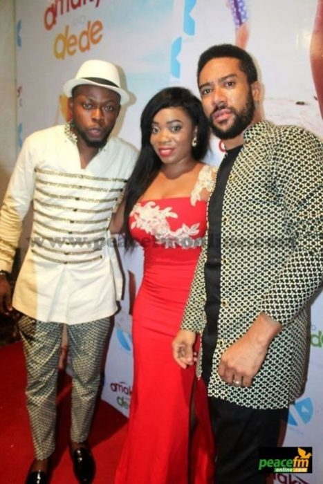 Photos: Fashion At 'Amakye and Dede' Premier, See what your favorite Celeb Wore to the Red Carpet