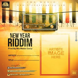 Instrumental: New Year Riddim By Mix Masta Garzy