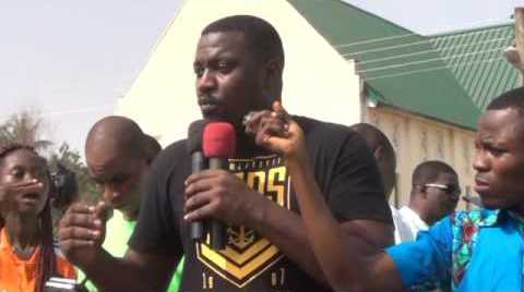 Video: John Dumelo campaigns for NDC and reveals he has Presidential Ambition