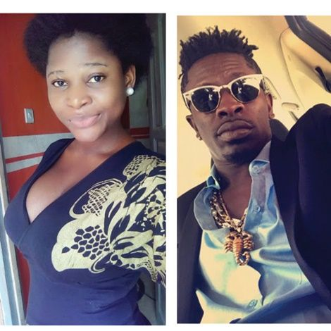 Obaapa Shatta Wale known as 'Breastina' claims his father Shatta Wale Forced her  to Lie about the rape case