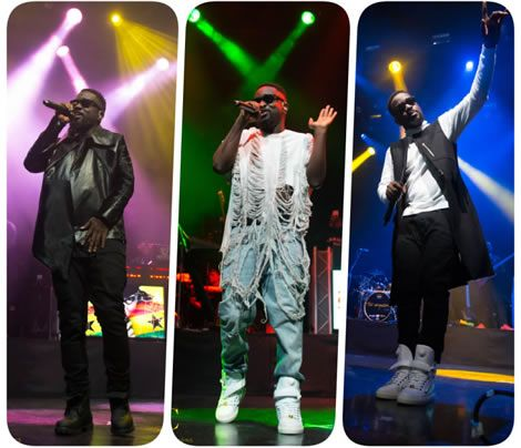 Photos: See What @Sarkodie wore to His concert @ 'Indigo O2 London', You will be shocked!