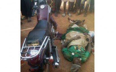 Robberkilledinshoot outwithpoliceNewsGhana - Robber killed in shoot-out with police | News Ghana