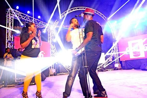 VIDEO: Majid Punches Kalybos on stage!