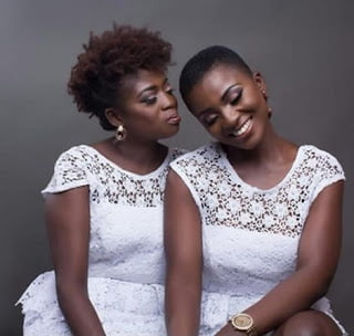 WOW See Photos OF Ahuofe Patri and her Mom