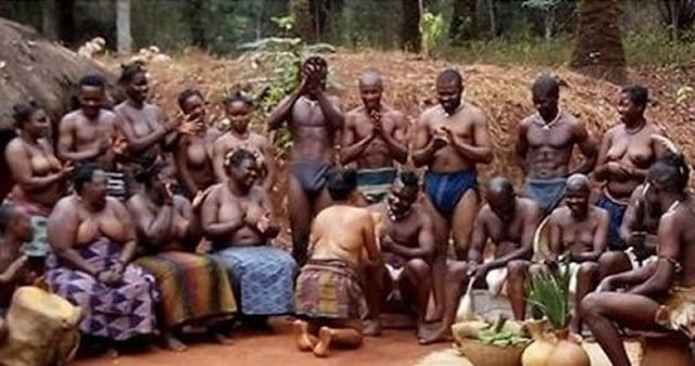 Actress/actors goes completely Naked in Nollywood epic Movie (Viewers Discretion)