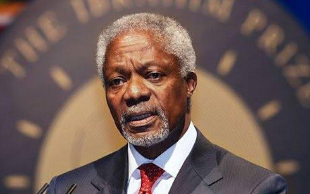 Legalise cannabis - Kofi Annan