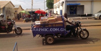 A family of 9 Killed in tricycle accident