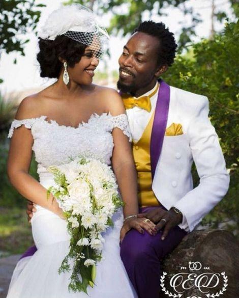 KwawKese27sClassyWhiteWeddingPhotos - Kwaw Kese's Classy White Wedding Photos