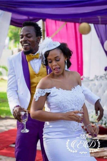 Kwaw Kese's Classy White Wedding Photos