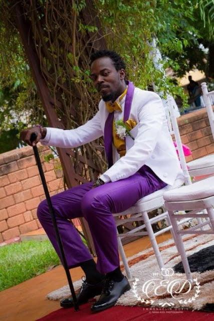 KwawKese27sClassyWhiteWeddingPhotos4 - Kwaw Kese's Classy White Wedding Photos