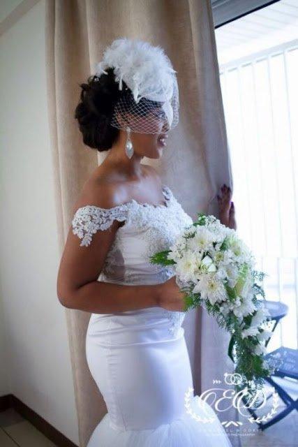 KwawKese27sClassyWhiteWeddingPhotos7 - Kwaw Kese's Classy White Wedding Photos