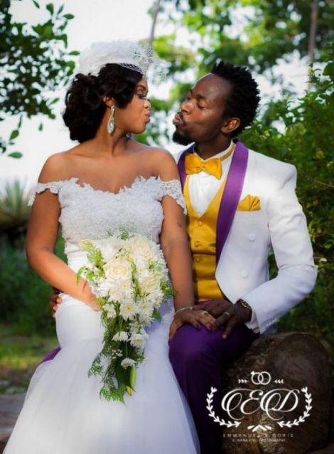 KwawKese27sClassyWhiteWeddingPhotos99 - Kwaw Kese's Classy White Wedding Photos
