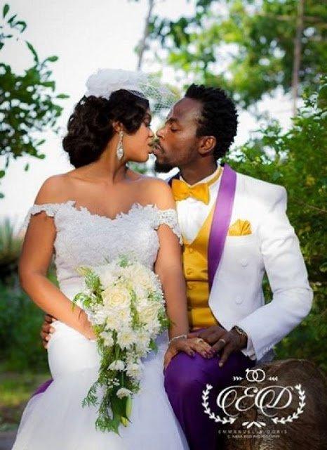 KwawKese27sClassyWhiteWeddingPhotos99kj - Kwaw Kese's Classy White Wedding Photos