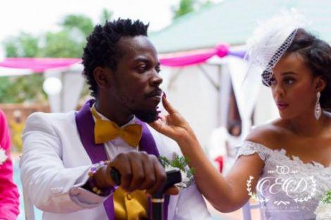 KwawKese27sClassyWhiteWeddingPhotosddd - Kwaw Kese's Classy White Wedding Photos