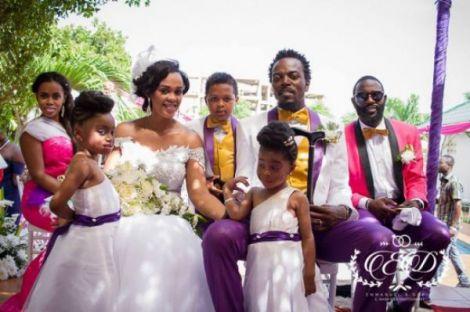 KwawKese27sClassyWhiteWeddingPhotosy - Kwaw Kese's Classy White Wedding Photos