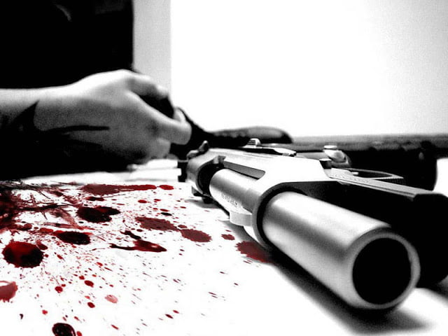 Man Shoots himself to escape bride prize