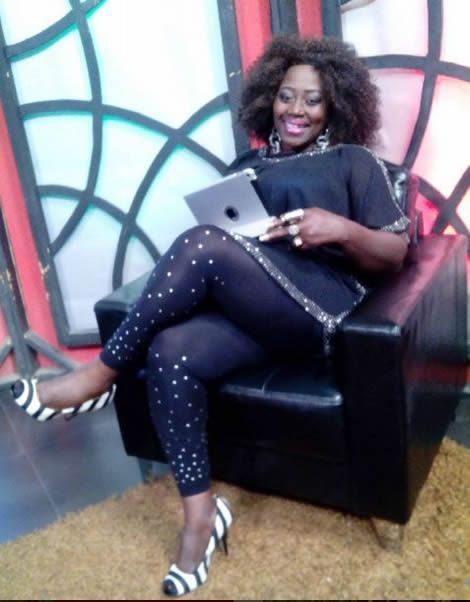 Wow see Akumaa Mama Zimbi Looking Sexy Without Her Headgear (photo)