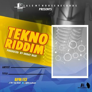 DrRaybeat TeknoRiddimFreeInstrumental - Dr Ray beat - Tekno Riddim Free Instrumental