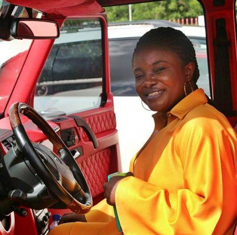 OhemaaMercyFlauntE28099sNewCar - Photo: Ohemaa Mercy Flaunt's New Car