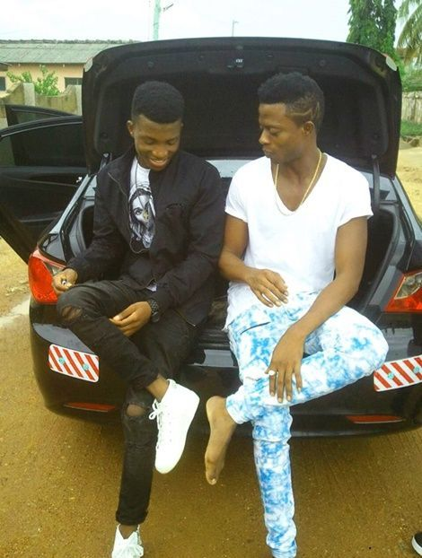 PhotoFanteRapper2CKofiKinaataShowsOffHisVGMACar6 - Photo: Fante Rapper, Kofi Kinaata Shows Off VGMA Car